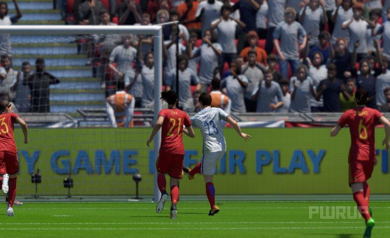 FIFA 18 Turnier 2:0 ENG : ESP, 1.HZ