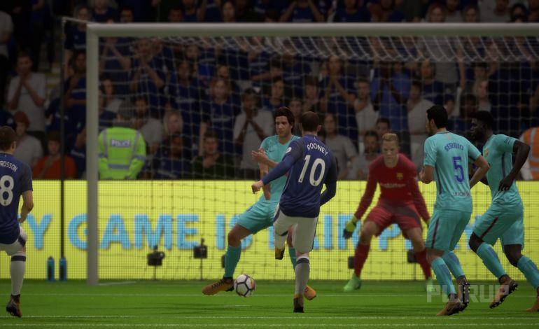 FIFA 18 Anstoß 2:0 EVE : BAR, 1.HZ