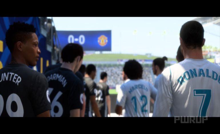FIFA 18 The Journey (Im Menü)