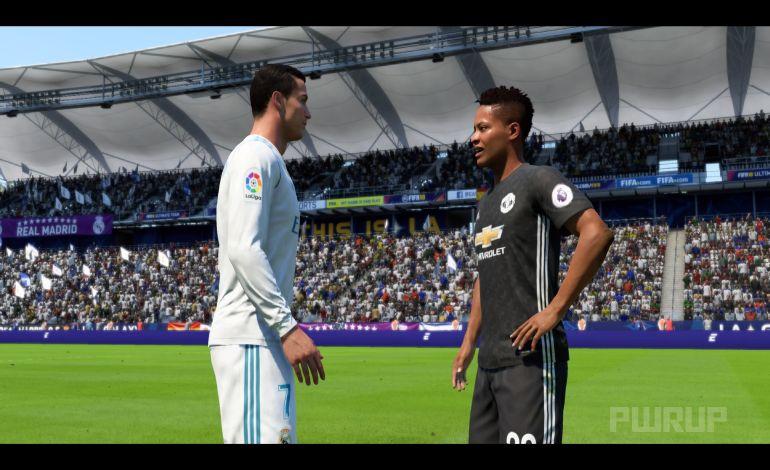 FIFA 18 The Journey 1:4 RMA : MUN, 2.HZ