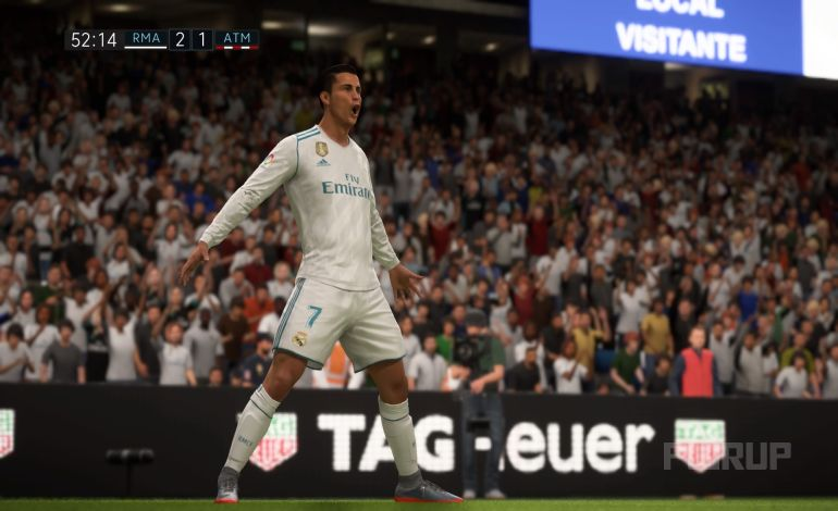 FIFA 18 Intros 2:1 RMA : ATM, 2.HZ