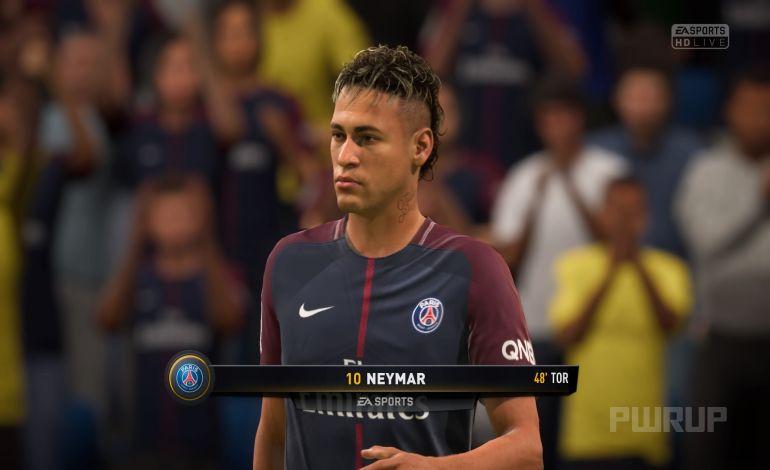 FIFA 18 Anstoß 4:1 PSG : FCB, 2.HZ