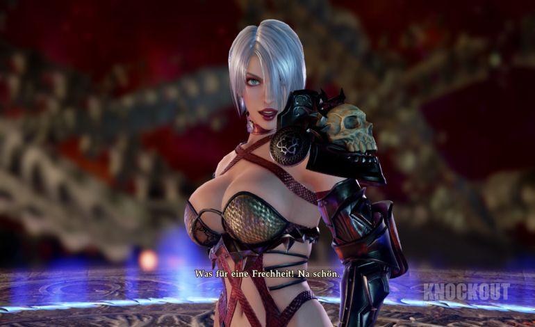 Seele Kalibur Videospiel Titten