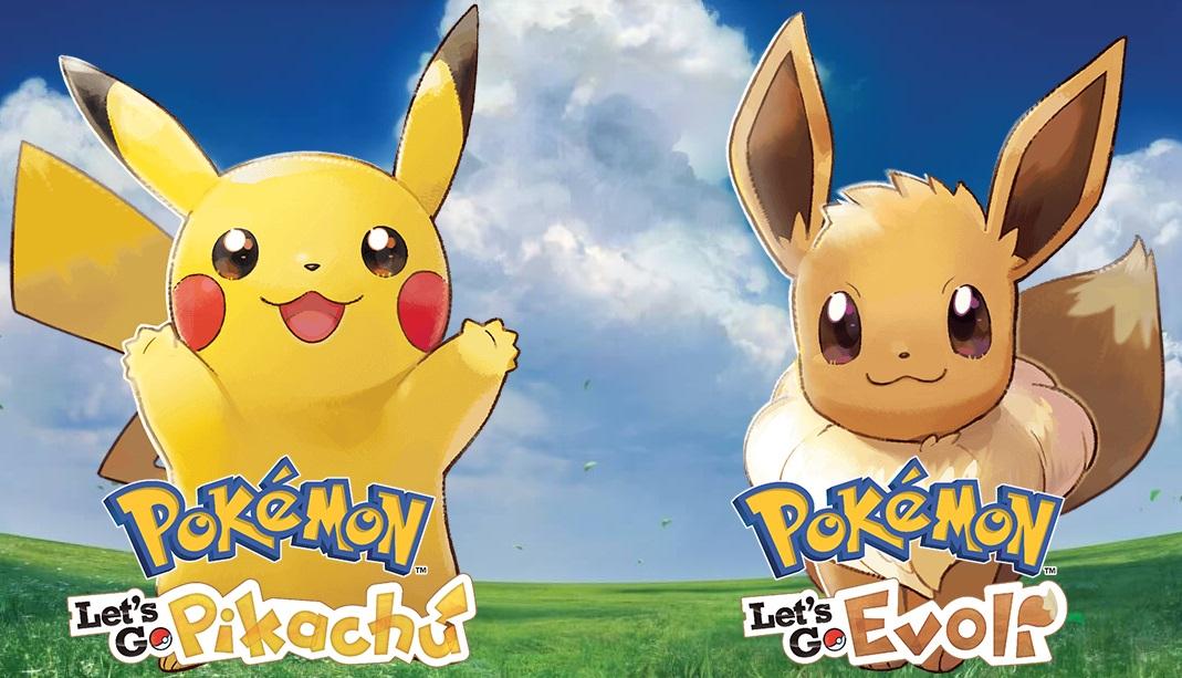 Pokémon: Let's Go, Pikachu! und Let's Go, Evoli!