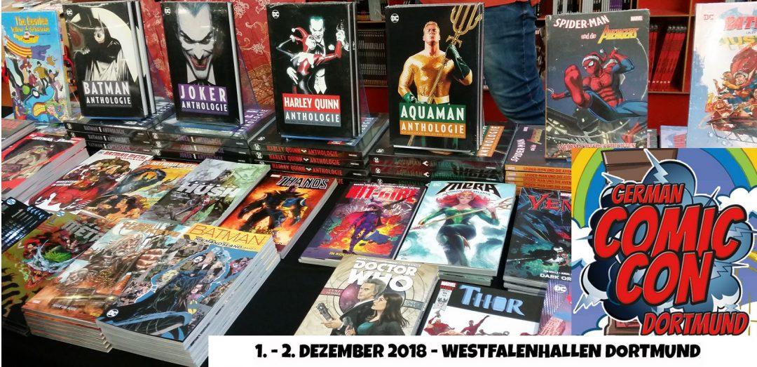 German Comic Con 2018 // Knockout auf der Comic Con in Dortmund