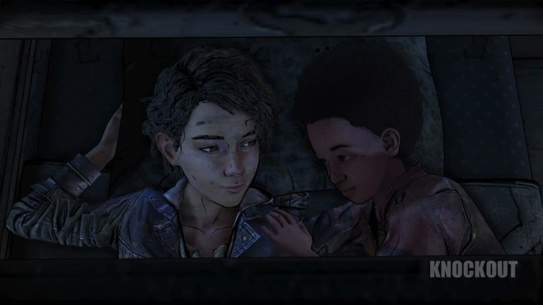 The Walking Dead: The Final Season Clementine und AJ