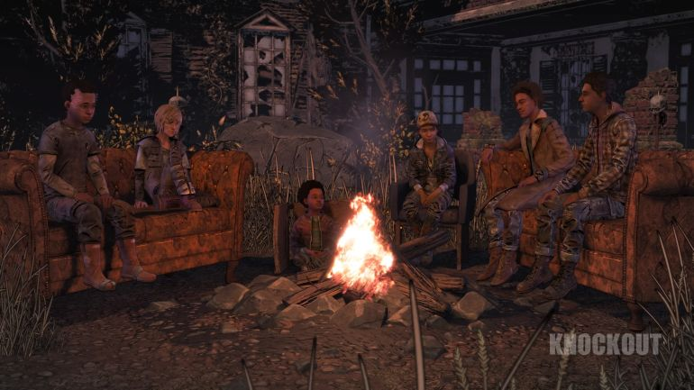 The Walking Dead: The Final Season Test