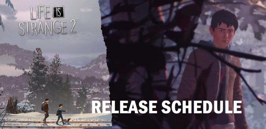 Life is Strange 2: Zeitplan für die Veröffentlichungen der Episoden