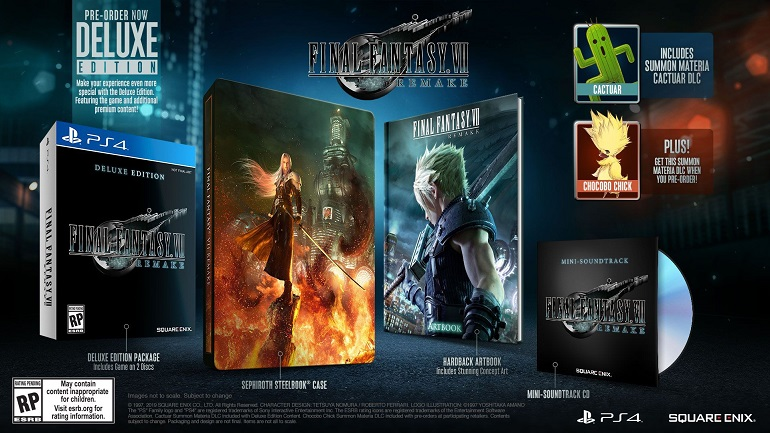 Final Fantasy 7 Remake Deluxe Edition