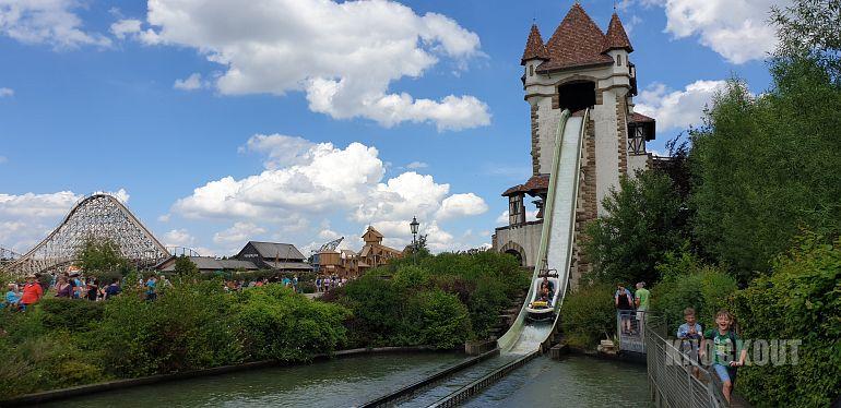 Erlebnispark Tripsdrill - Badewannenfahrt zum Jungbrunnen