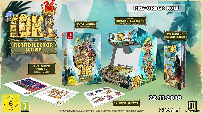 Toki Collectors Edition