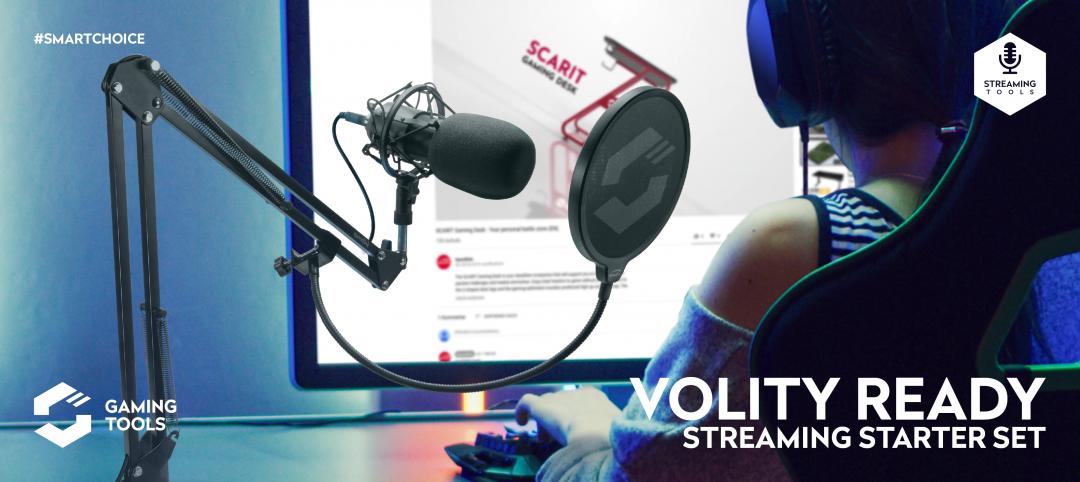Speedlink VOLITY READY Streaming Starter Set
