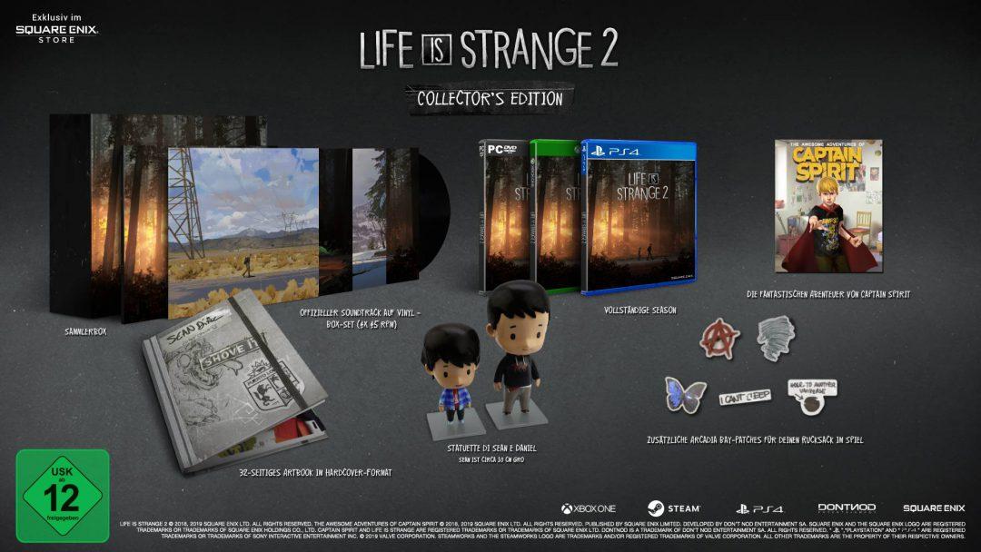 Life is Strange 2 Box-Version erscheint am 3. Dezember