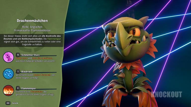 Plants vs. Zombies: Drachenmäulchen