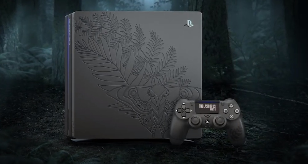 Limited Edition PS4 Pro-Paket im The Last of Us Part II Design