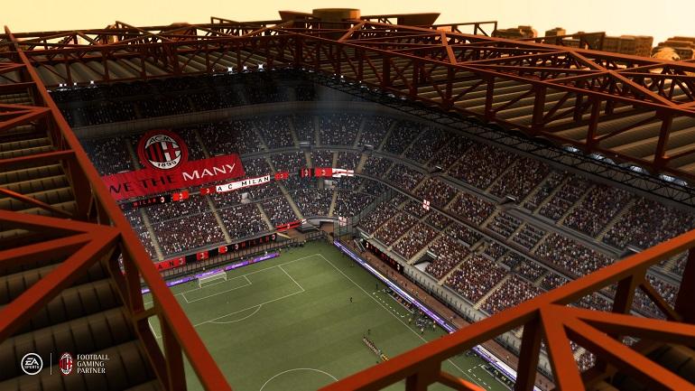 FIFA 21 - AC Mailand Stadion 1