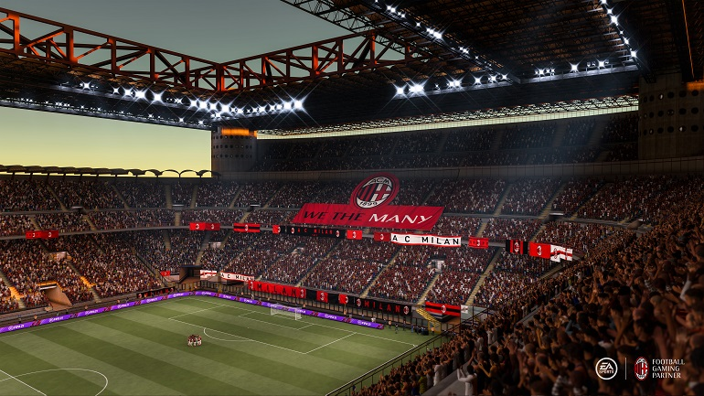 FIFA 21 - AC Mailand Stadion 2