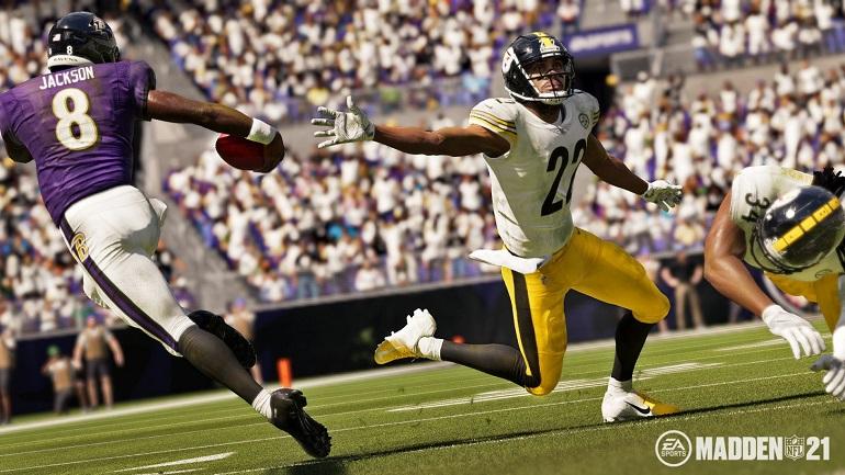 EA SPORTS: The Yard erscheint für Madden NFL 21 und Madden NFL 21 Mobile