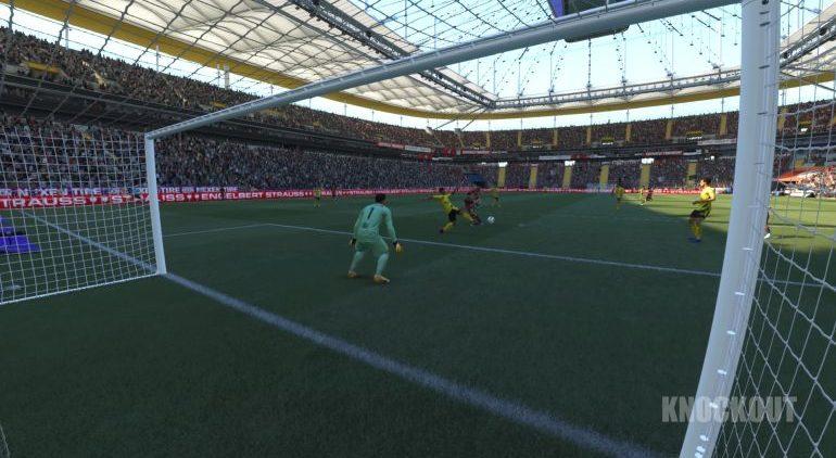 FIFA 21 Karriere: Partie 1:0 SGE : BVB, 2. HZ