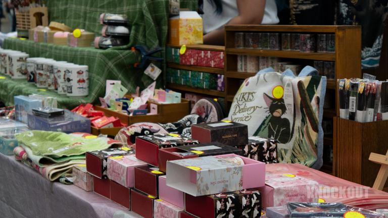 Ghibli Merchandise auf der Dokomi 2021